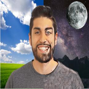 Daniel Mendoza photo manipulated by Cloudinary