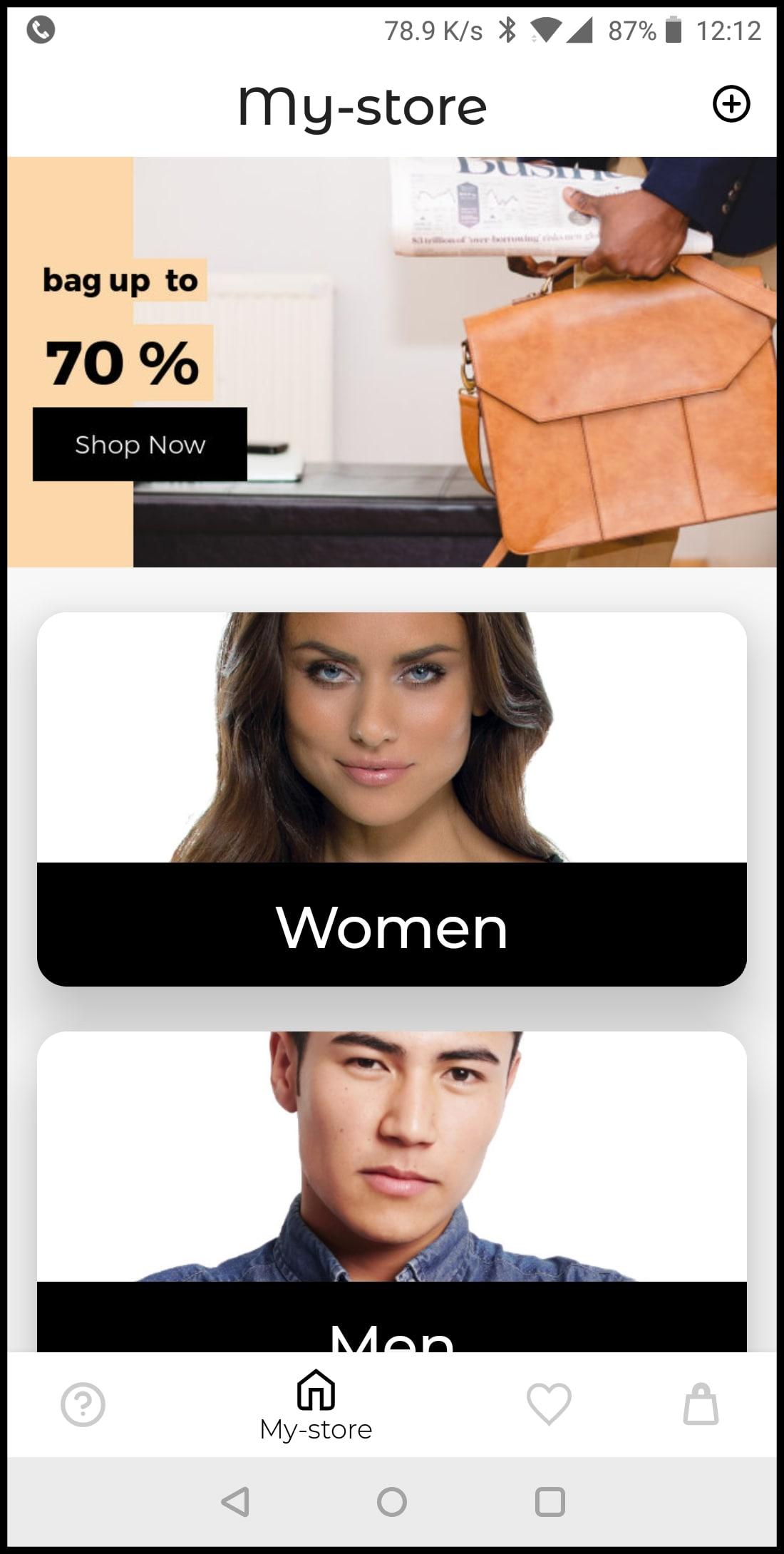 e-commerce Demo App