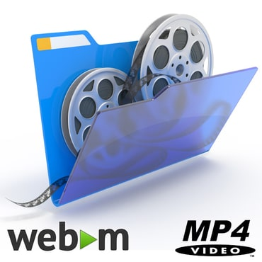 Animated GIF? Convert to WebM or MP4