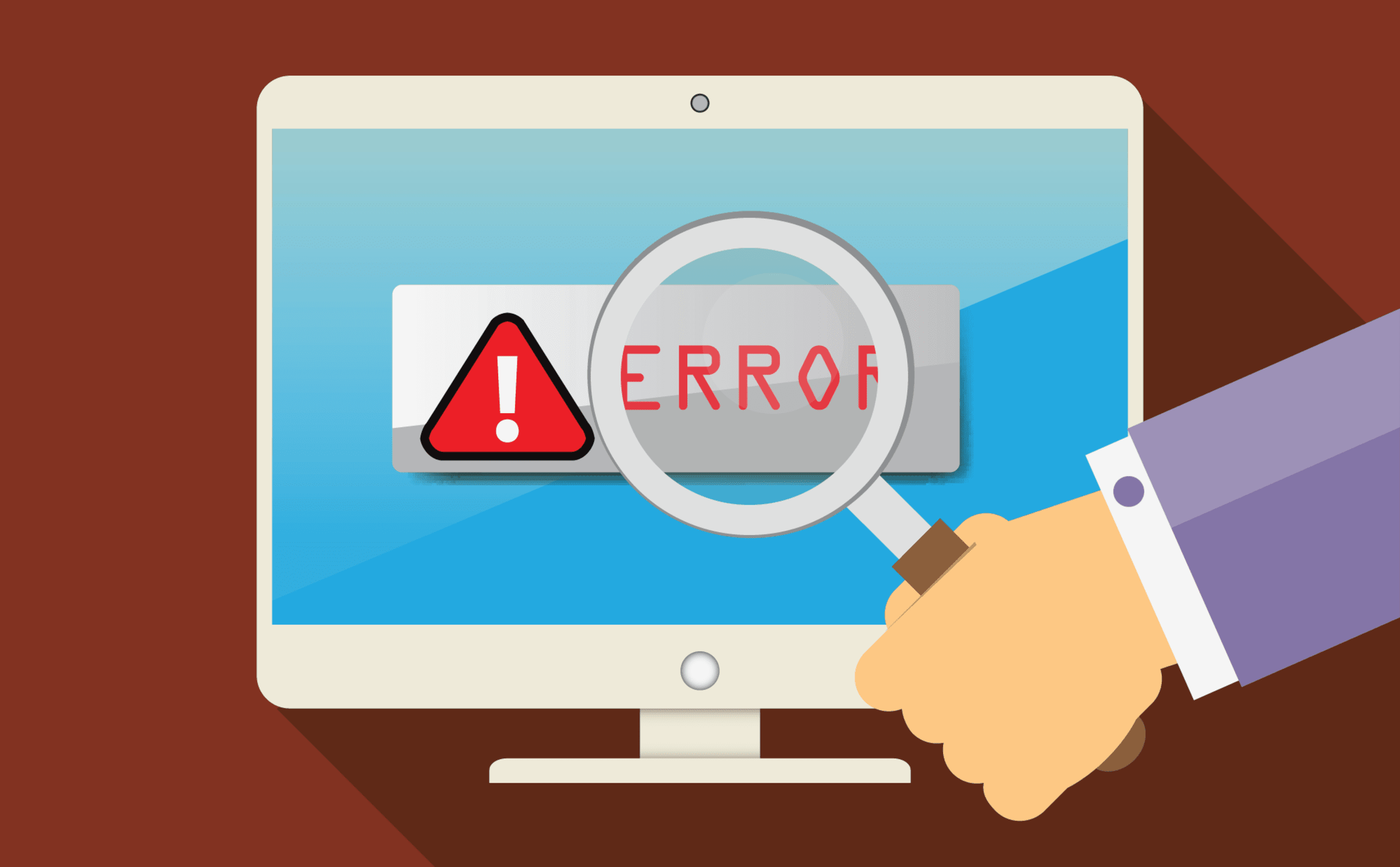 Using error reports to identify image delivery issues