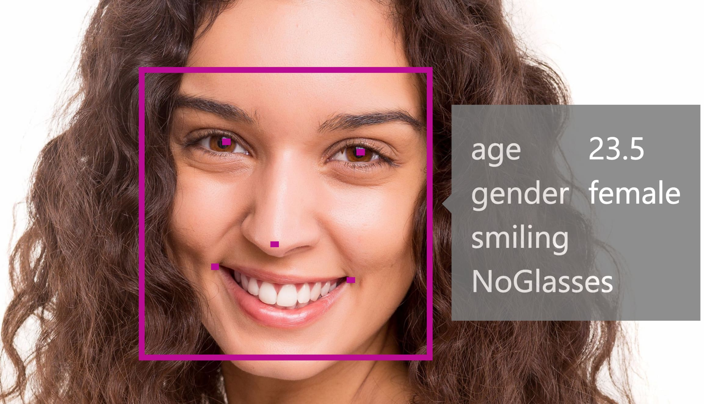 Facial Attribute Detection with Microsoft's Face API