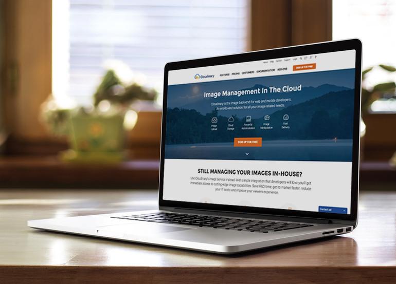 Introducing Cloudinary's new website design