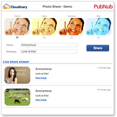 Create a Real-Time Photo Sharing Website in a Few Easy Steps