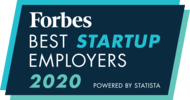 Forbes Best Startup Employers 2020