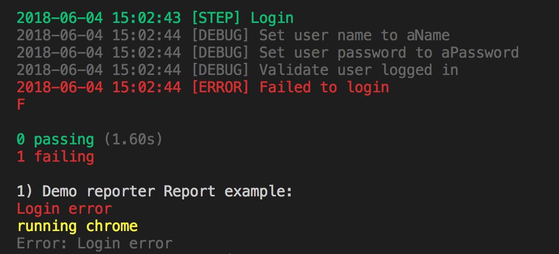 Terminal Output