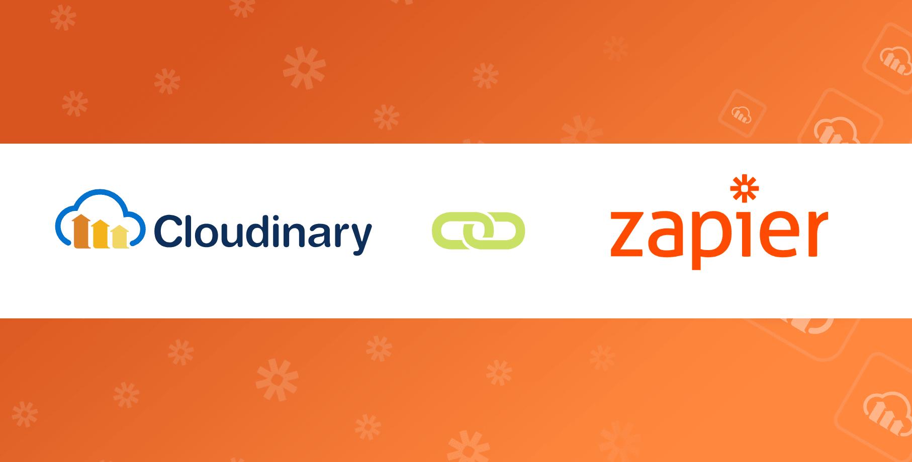 Zapier+Cloudinary