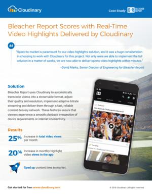 Bleacher Report Case Study
