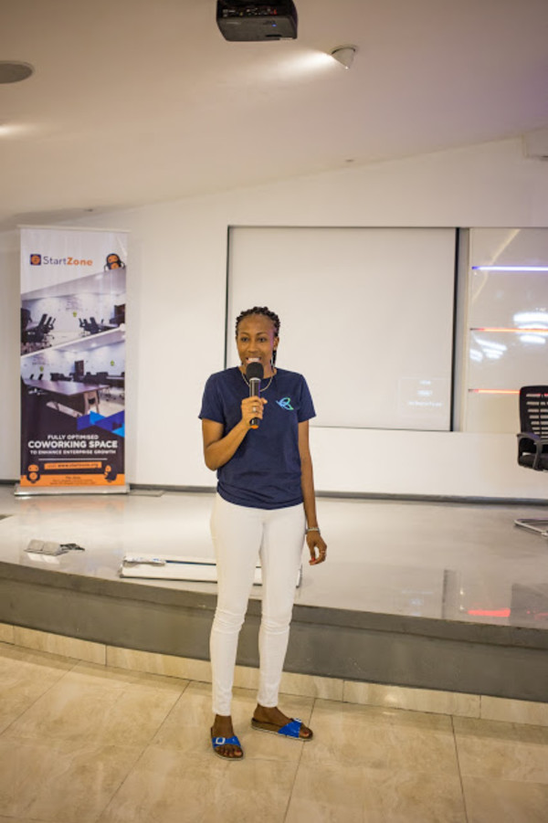 Omosalewa Falade, Flutterwave's tech strategist, speaking about the possibilities with Flutterwave