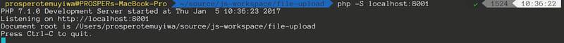 PHP server