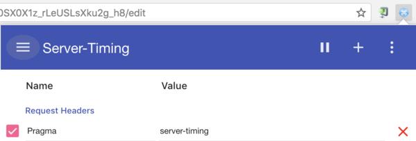 Server-Timing