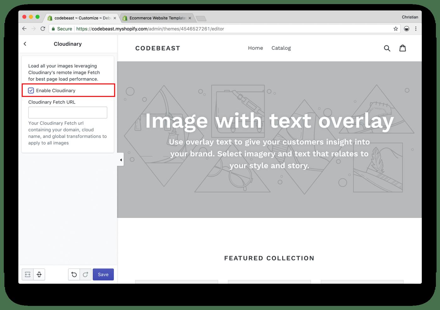 shopify image optimization