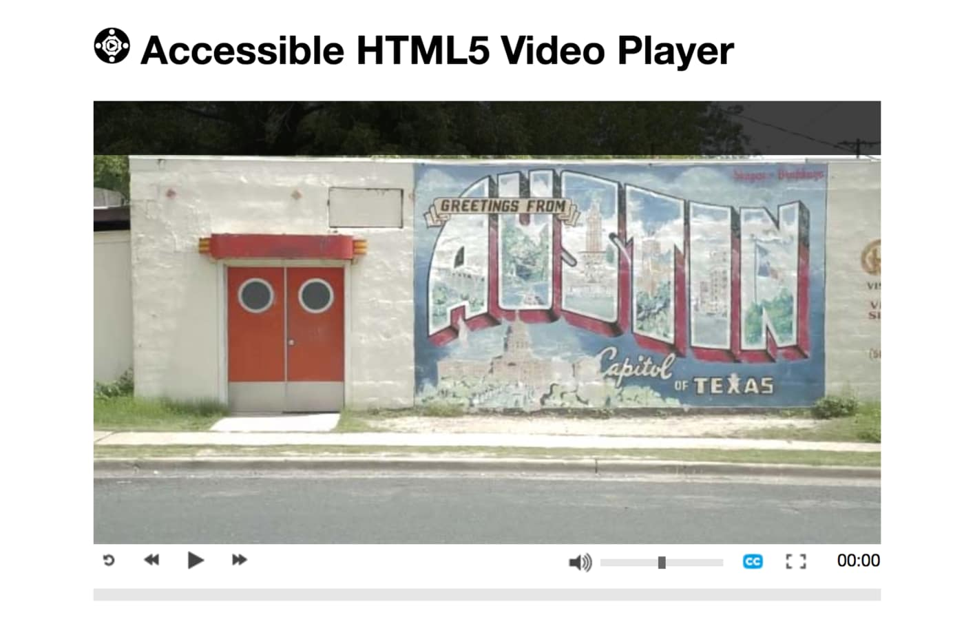 PayPal HTML5 Video Player