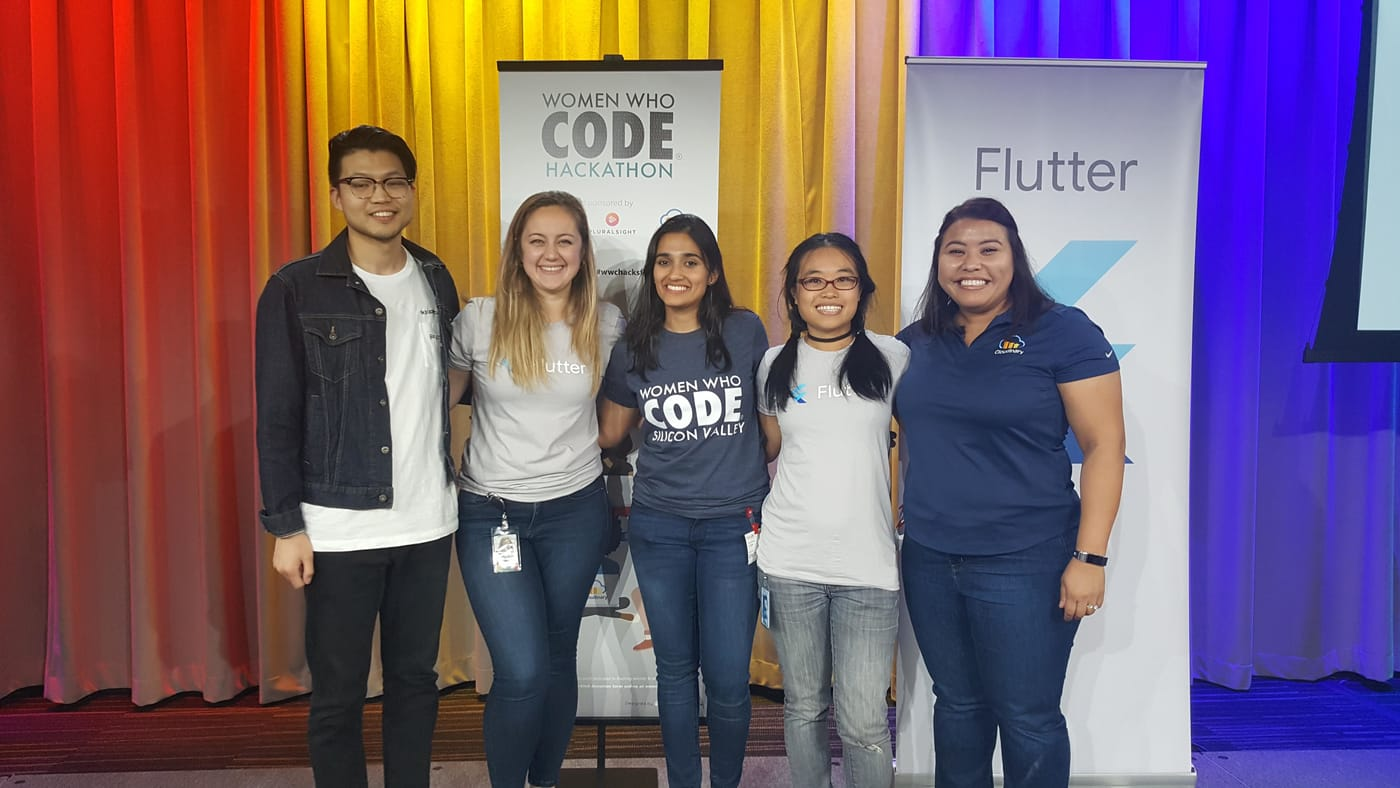 Women Who Code Silicon Valley Hackathon Judges