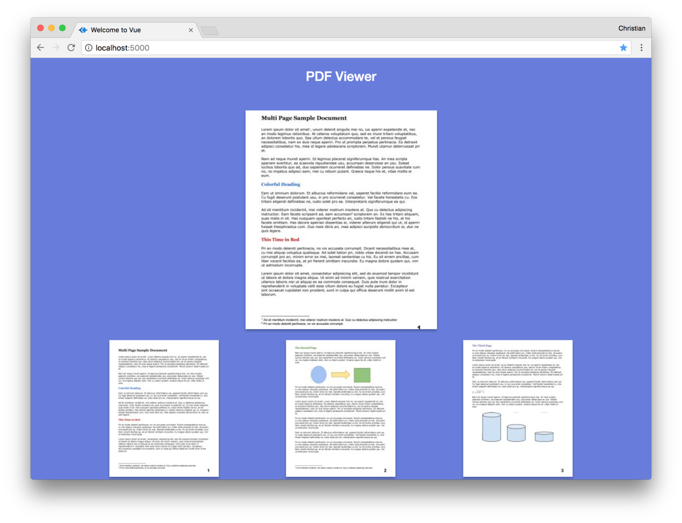 Image of Preview and Pages