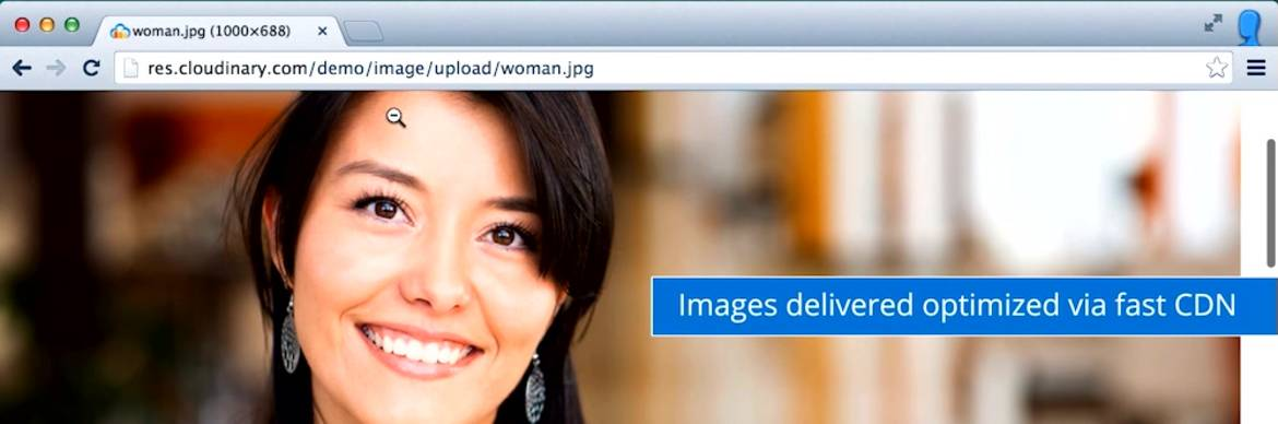 Image and Video Upload, Storage, Optimization and CDN